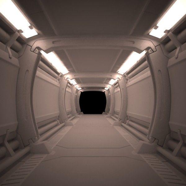 3D MODEL: https://www.turbosquid.com/3d-models/3d-spaceship-corridor-model/608869?referral=cermaka