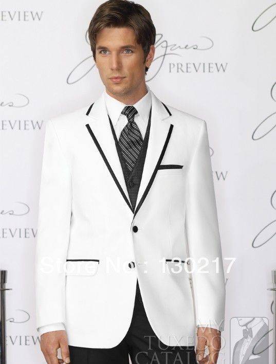 18 best images about wedding suits on Pinterest | White tuxedo ...