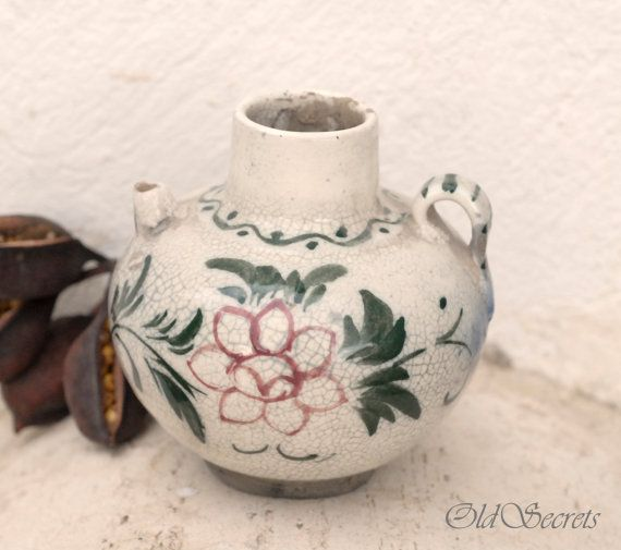 Handmade Ceramic Vase Pitcher by OldSecrets