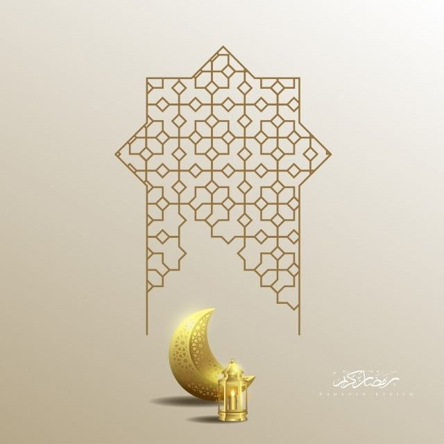 رمضان كريم فانوس القمر الإسلامي والخلفية هندسة هندسي مصباح خط Png والمتجهات للتحميل مجانا Planificateur Deco Ramadan