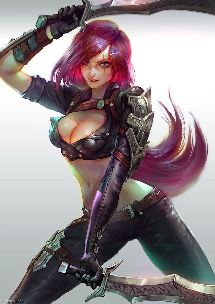 Katarina | Катарина @League of Legends | Лига Легенд #LoL #ЛоЛ