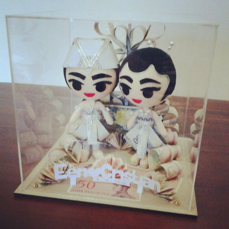 Wedding gift order ^^ #felt #doll