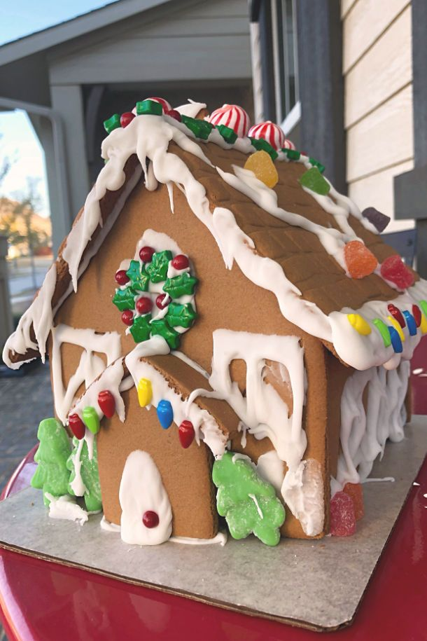 Christmas Gingerbread House Kit.The Absolutely Best Gingerbread House Glue Food