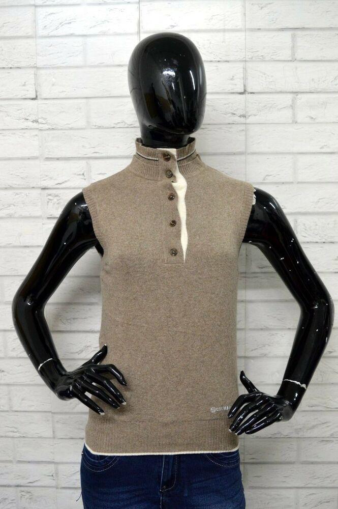 best authentic 53646 acd51 Maglione COLMAR GOLF Taglia Size S Donna Woman Pullover ...