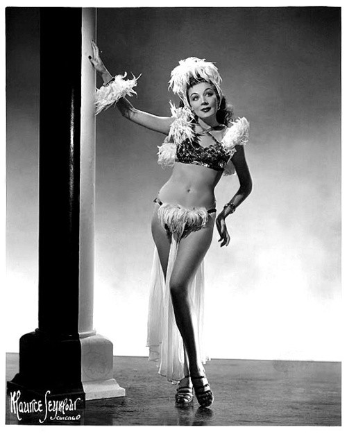 Betty rowland aka the ball of fire vintage burlesque - 3 part 1