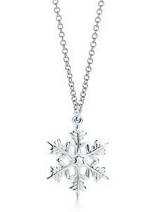 Tiffany Outlet Attractive Snowflake Necklace Why are snowflakes so beautiful?