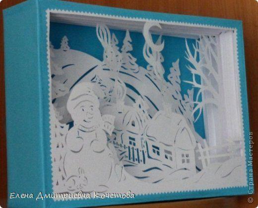 Давно носила в себе идею сделать туннель на тематику заснеженной деревеньки,  чтобы ощущалось рождественское настроение и домашнее тепло в засыпанных снегом домах. Вот и родилось сие творение!  Надеюсь, Вам понравится! фото 6
