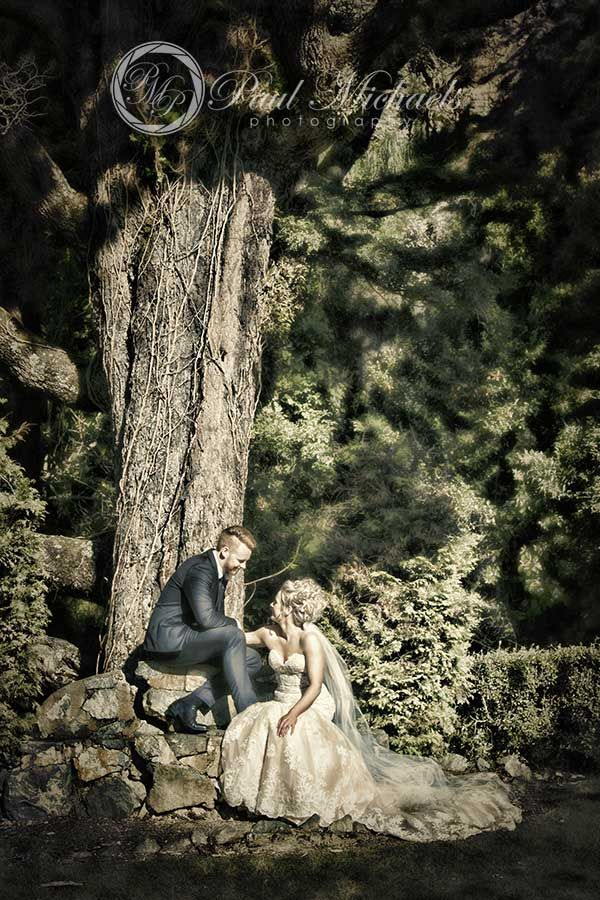 Relaxing in the grounds. Wellington wedding photography http://www.paulmichaels.co.nz/