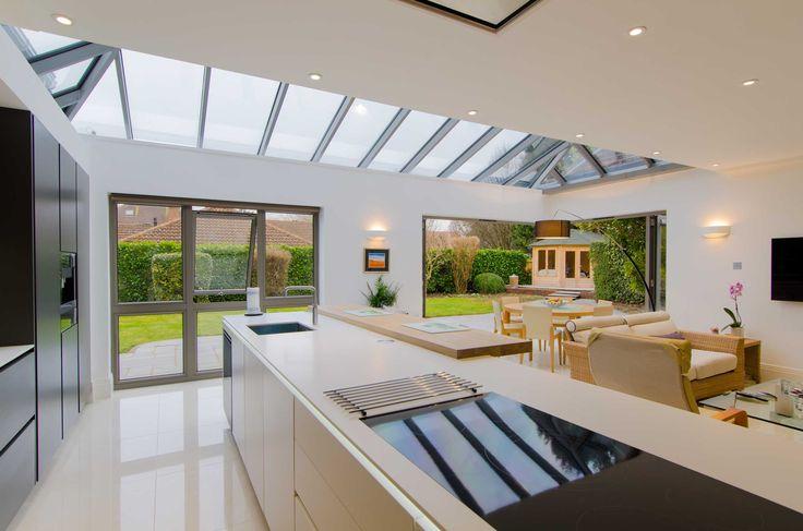 The Origin Home: 6 Bedroom Mansion Makeover, Buckinghamshire.  Origin Doors and Windows:http://bit.ly/BucksMansionMakeover