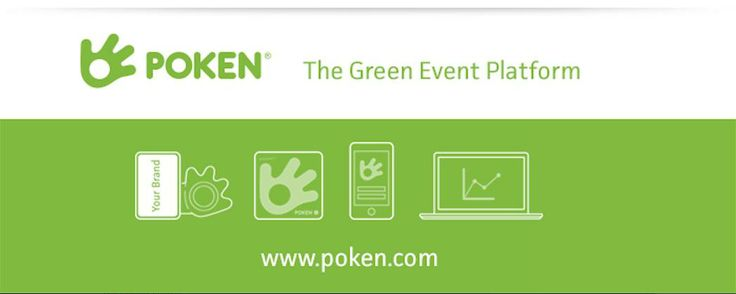 Poken allows your next event to be completely paperless. Find out more at www.poken.com