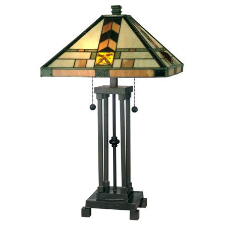 Dale Tiffany TT10035 Craftsman Table Lamp
