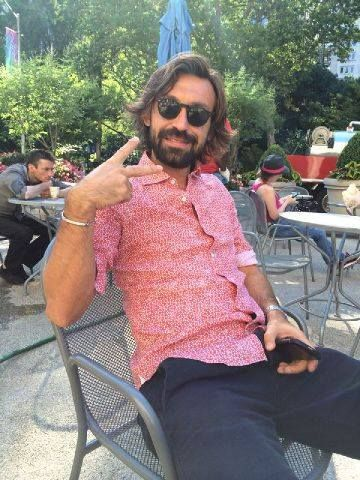 you will never be cooler than Andrea Pirlo