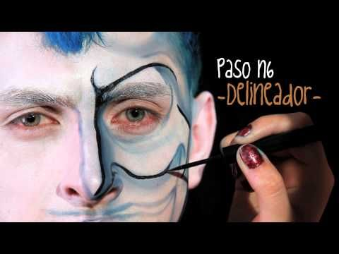 Falabella Colombia Makeup para Halloween: Hades - YouTube