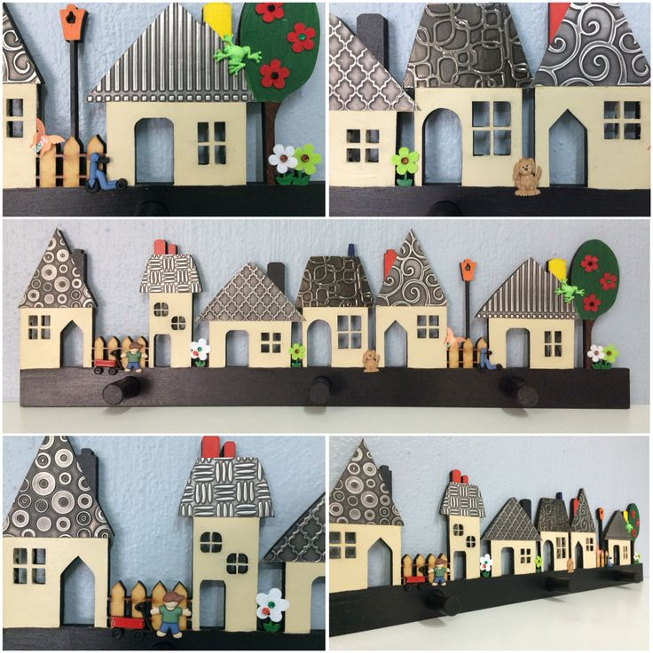 Another gorgeous village coat rack with pewter accents. This one made by Roz from Wednesday's class and is a gift destined for Spain. #pewter #pewtercraft #creative #decor #kidsdecor #kidsdesign www.mimmic.co.za