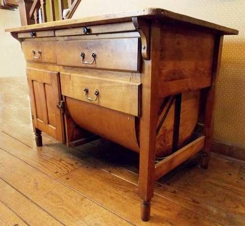 Nice antique Pine country storage cabinet with lots of storage and patented  1905. Two slides - 64 Best Antique Pine Images On Pinterest Furniture, Auction And