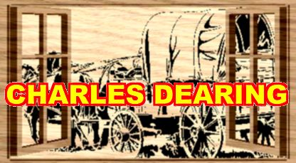 A chuck wagon passes open windows (Layered) from Scroll Saw Pattern designer Charles Dearing.