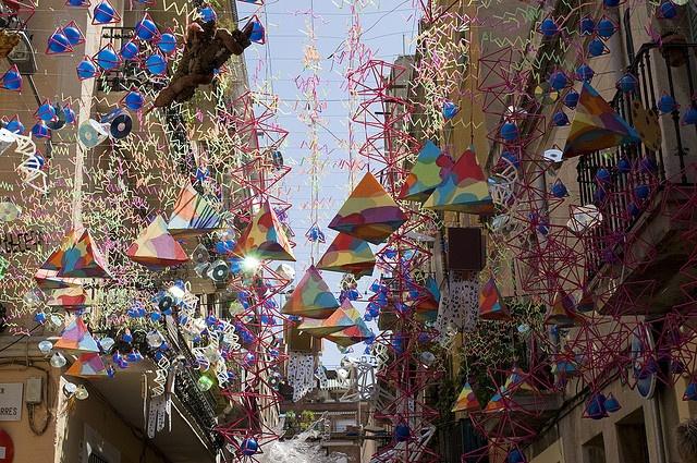 Festa de Gracia, Barcelona