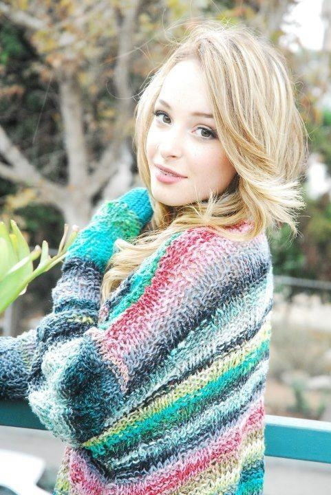 My beautiful Zoe modeling with NORO cardigan I knitted:)