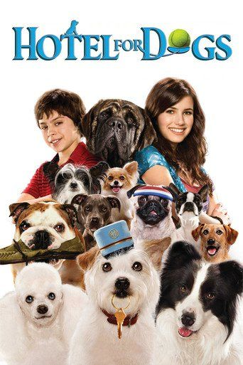 Hotel for Dogs (2009) | http://www.getgrandmovies.top/movies/25472-hotel-for-dogs | Placed in a foster home that doesn't allow pets, 16-year-old Andi and her younger brother, Bruce, turn an abandoned hotel into a home for their dog. Soon other strays arrive, and the hotel becomes a haven for every orphaned canine in town. But the kids have to do some quick thinking to keep the cops off their tails.