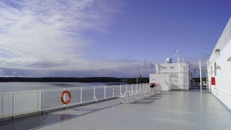 Um ein Haar hätten wir die Fähre nach Åland verpasst. Doch auf den Inseln zwischen Schweden und Finnland erleben wir ein blaues Wunder. Sozusagen.