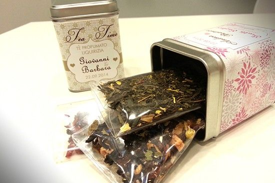 Bomboniere alimentari enogastronomiche the tè tisane infusi. Wedding favor tea. #wedding #favor