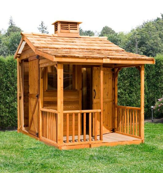 10 best images about sheds with porches on pinterest for Small shed kits