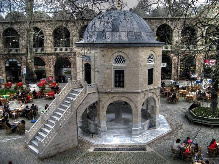 The Koza Han is a two-story Caravanserai in Bursa