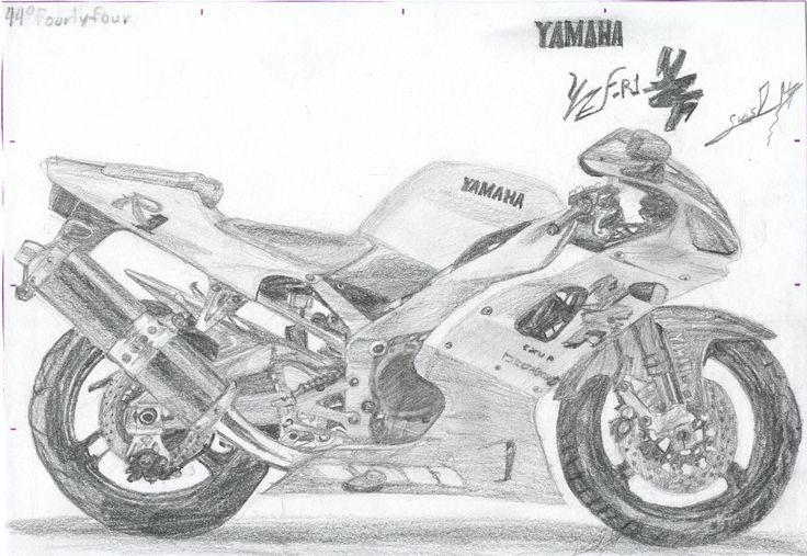 Yamaha YZF R-1.