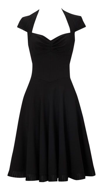 Simple and adorable...Mad Men style: Simple Black Dress, 50S Style, Adorable Mad Men, Mens Style, 50 Style, Cap Sleeve, Men'S Style, Little Black Dresses, Mad Men Styles