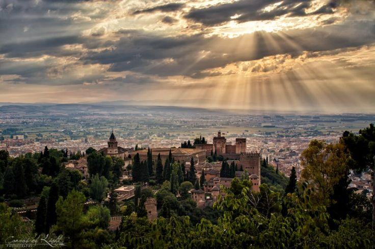 Overlooking the Alhambra ~ Granada, Spain