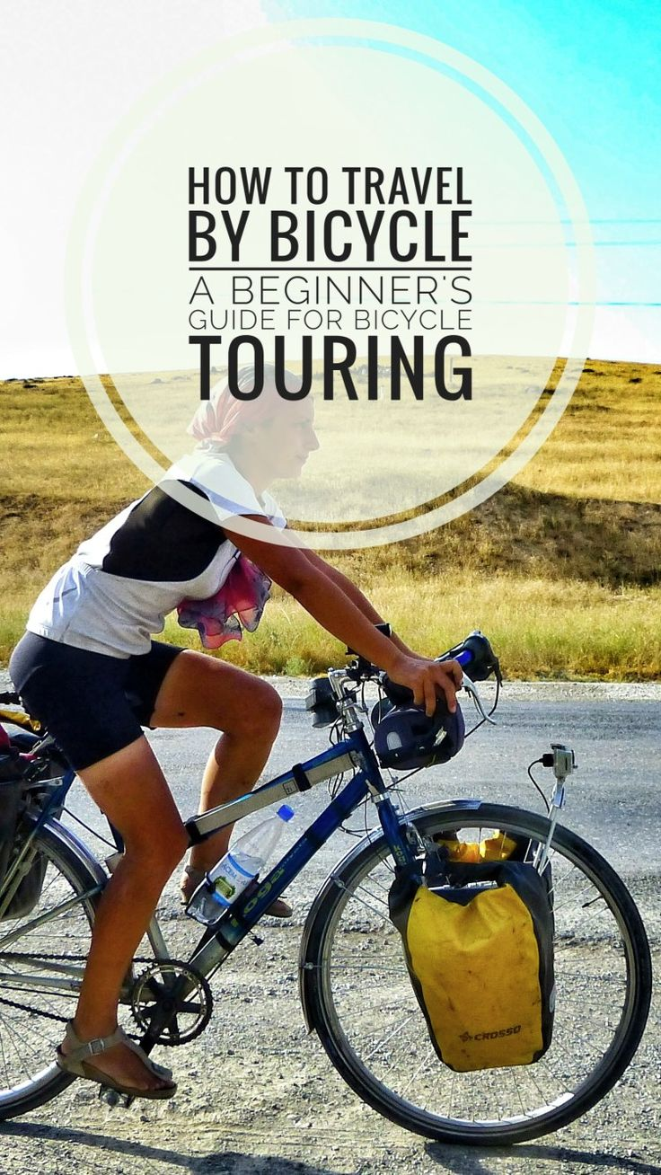 How to Travel by Bicycle: a Beginners' Guide to Start Bike Touring  How to plan your first bicycle trip on a budget. Find a touring bicycle, gear up, plan your route and start traveling the world by bicycle. #roadtrip #bicycletouring #bicycletravel #worldbybike #cycling #cicloturismo #bikepacking #slowtravel #offthebeatenpath #travel #onabudget #budgetholidays #travelgear #style #adventure #bicycle #bike #bikelife #cycling #cyclinglife