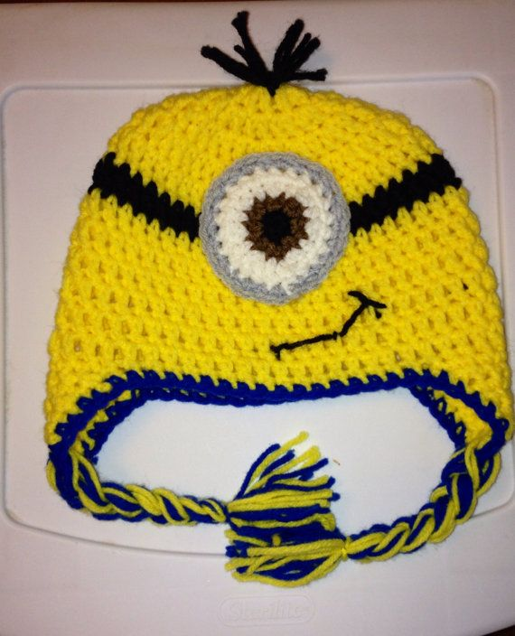 Free Crochet Pattern For Minion Eyes : 73 best images about Crocheting on Pinterest Free ...