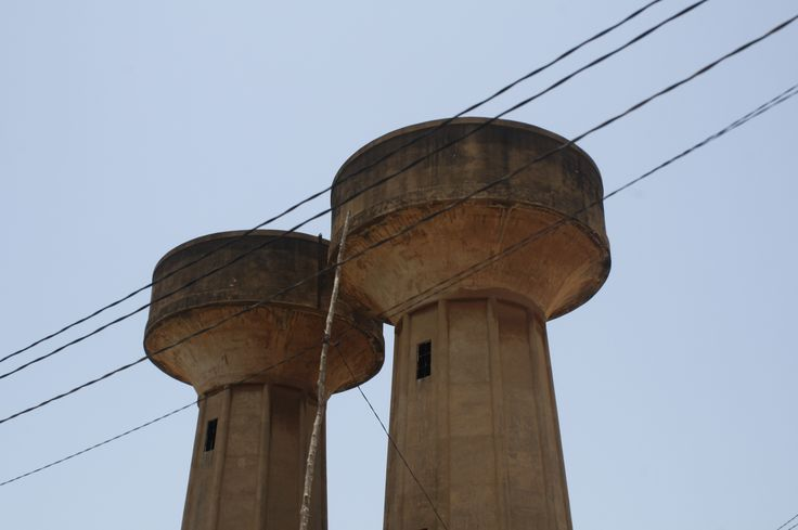 Water Towers Lome, Togo 2017 #watertowers #lome #togo #travel #westafrica