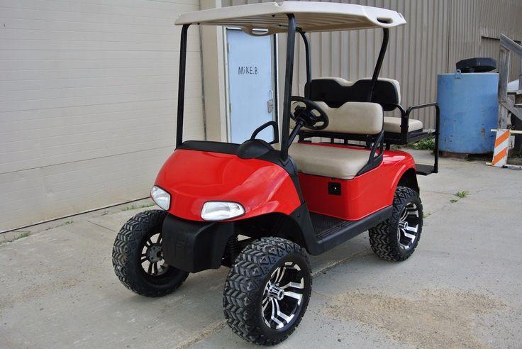 lifted 2008 Custom Ez Go golf cart