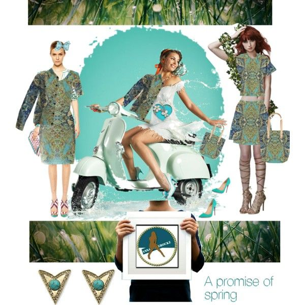 A promise of spring by annabelle-h-ringen-nymo on Polyvore featuring Christian Louboutin, M Missoni and annabellerockz