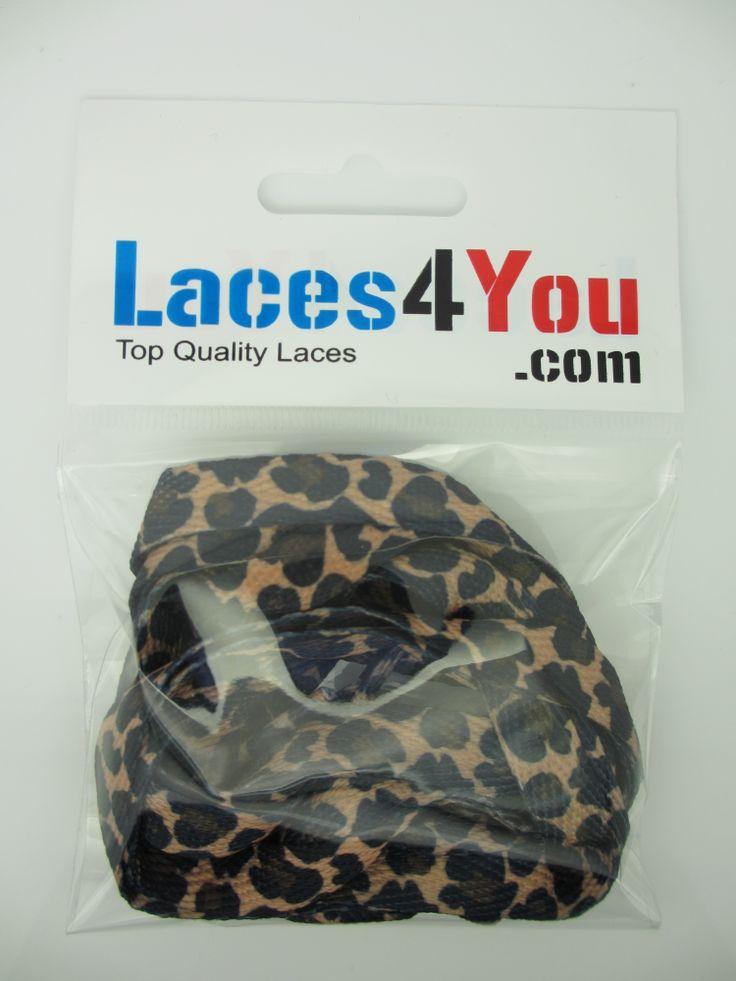 Leopard Print Laces.