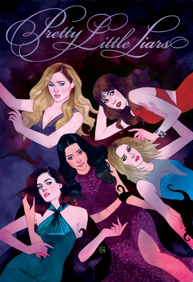 kevin wada illustration: NYCC Exclusive Pretty Little Liars poster