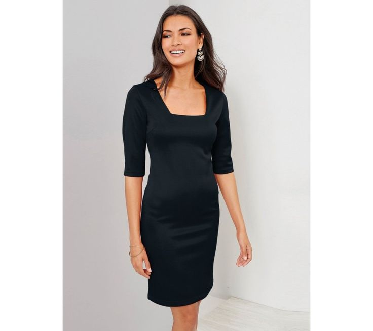 Večerné šaty s nariaseným volánom   modino.sk #ModinoSK #modino_sk #modino_style #style #fashion #dress