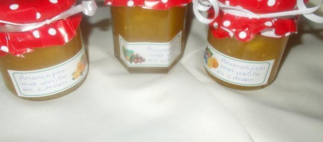 Ananasjam Met Citroen En Vanille recept | Smulweb.nl