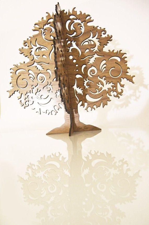 Jewellery Trees. Large. Uniquely Designed in Walnut by littlejehan