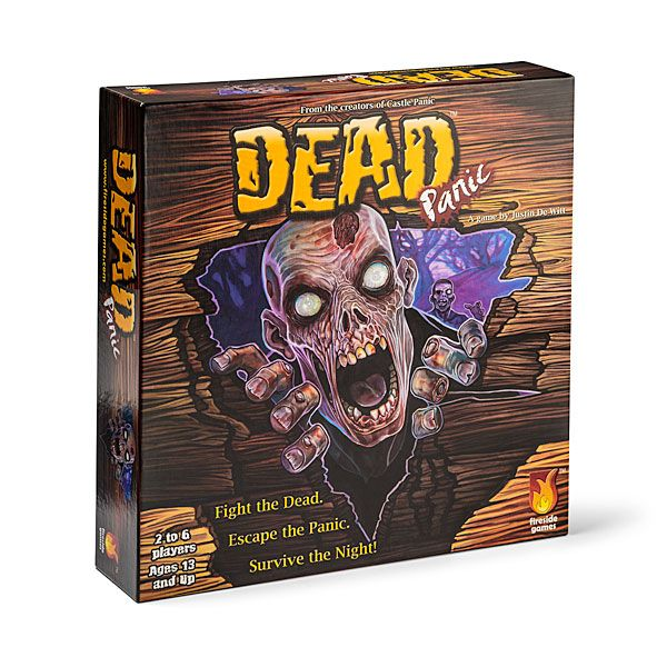 In this Dead Panic Zombie Board Game you either kill the zombies or become one. If you do turn into a zombie, you'll spend the rest of the game eating all the other players.  So it is in your best interest to play Dead Panic as a