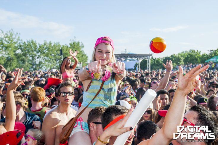 Awesome crowd at #DigitalDreams ! #EDM #MusicFestival #Toronto