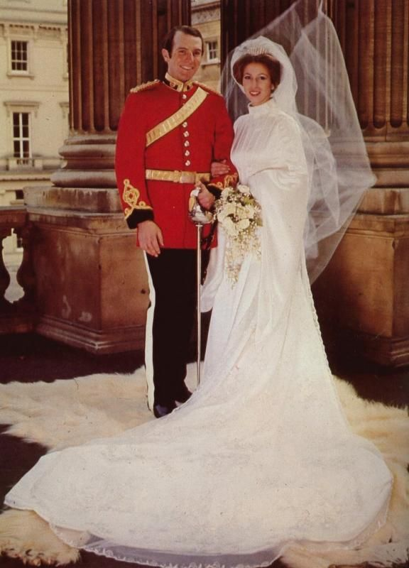 Princess Anne's wedding to Captain Mark Phillips on November 14, 1973 was held at Westminster Abbey. By 1989, however, the Princess Royal and Mark Phillips announced their intention to separate, as the marriage had been under strain for a number of years. The couple divorced on April 23, 1992. On December 12, 1992, Anne married Timothy Laurence in Scotland.