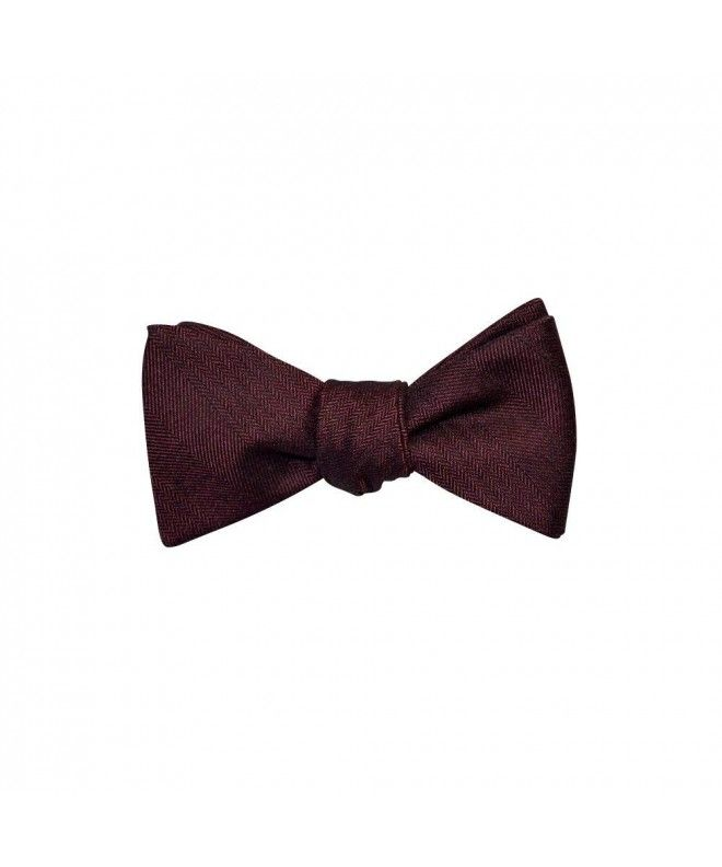 White NEW Adjustable Satin Bow Tie