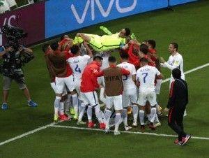Chile vence en penales a Portugal y avanza a final Copa Confederaciones