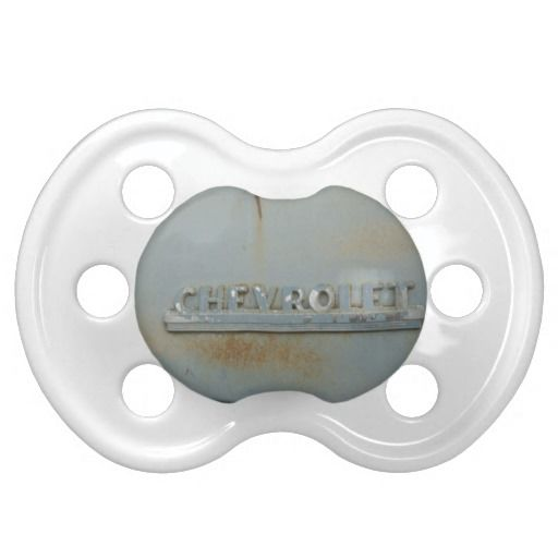 Blue Chevy Baby Pacifier