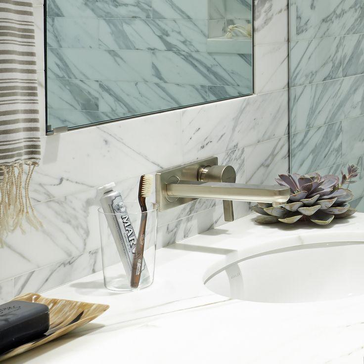 Marble Bath vanity by Katch I.D. Interiors.