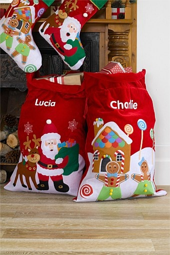 Christmas - Personalised Santa Sack