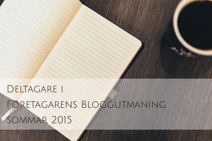 Här hittar du alla deltagarna i Företagarens Bloggutmaning Sommar 2015