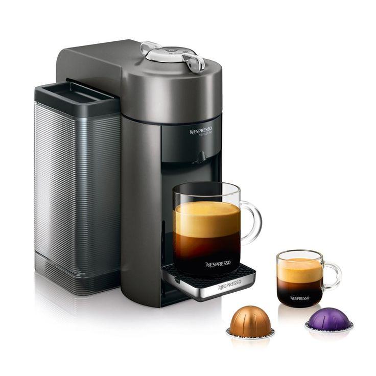 Nespresso Evoluo Deluxe Single Coffee & Espresso Machine